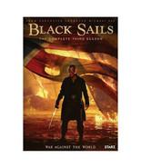 Black Sails Season 3 (DVD, 2016, 3-Disc Set) Like New - $19.99