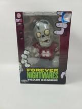 Forever Nightmares Team Zombie Nebraska CornHuskers NCAA Figure Red Jersey - $29.69