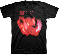 The Cure-Pornography Album Cover-Large Black T-shirt - $22.24
