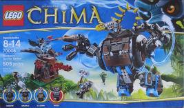 LEGO 70008 Chima Gorzan's Gorilla Striker [New] Building Set - $59.99