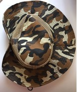 Hat Bonnie Western Camouflage Brim Snaps Up Mesh Sun Hunting Fishing Sum... - $19.95