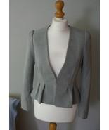 H&M New Pale Grey Jacket Suit Elegant - $39.99