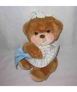 "Great Vintage 1985 Fisher Price 15"" Bear 1401 Plush Stuffed Lovey - $48.19"
