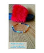 Uniquely made Glass bead anklets - $5.94