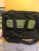 Eddie Bauer Black Diaper Bag - $17.33