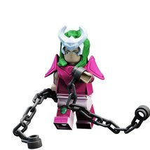 Andromeda Shun Lego Toys Saint Seiya Anime Theme Minifigure - $4.99
