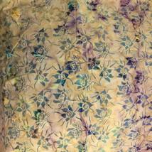 """Gorgeous Colorful Batik Cotton Quilt Dress Fabric 45"""" Wide x 2 Yds - $16.00"""