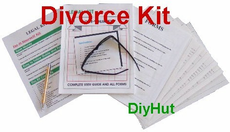 Do-It-Yourself Divorce Kit Complete guide and forms