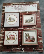 Antebellum Rooflines of Mississippi Counted Cross Pattern Book 3 Judith ... - $9.48