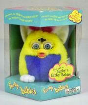 1999 Vintage Unopened Furby Baby Yellow Blue Red Hair & Blue Eyes 70-940... - $44.09