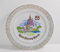 "Walt Disney Productions Magic Kingdom Castle 7"" Collectors Hanging Plate - $19.79"
