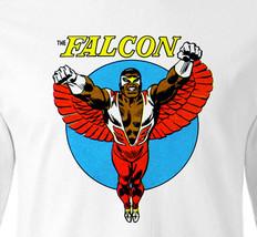 The Falcon T shirt Long Sleeve retro Marvel comic book superheroes cotton tee image 1