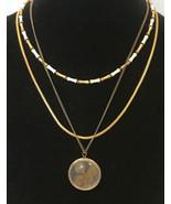 "vintage necklaces lot of 3 / 18"", 17"", 15"" Long - $4.95"