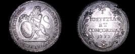1773 Swiss Cantons Zurich 1 Thaler World Silver Coin - $549.99