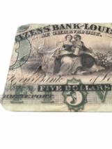 Vintage RARE JP Morgan Chase Bank Coaster Set Case Advertising Collectible image 4