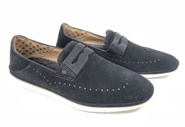 Ugg Australia Cali Penny Slip On Navy Blue 1092174 Men's Shoes Loafers Suede - $89.99