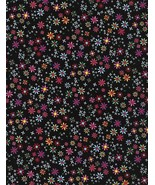 Timeless Treasures Fun C4341 Ditsy Daisy 100% cotton fabric by the yard - $10.23