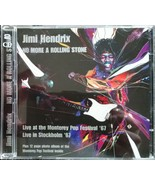 Jimi Hendrix No More A Rolling Stone 2 Cd Live At Monterey - $12.99