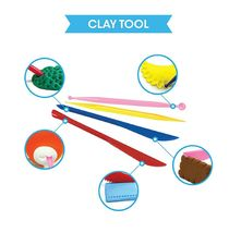 Amos iClay Play Pack Volume 2 Dough Modeling Compound Elastic Clay Toy Playset image 5