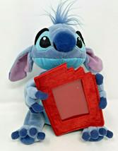 Rare Disney Store Mini Stitch Plush Gift Card Holder Photo Frame - $16.99