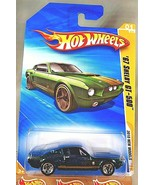 2010 Hot Wheels #1 New Models 1/44 '67 SHELBY GT-500 Green Variant w/Chr... - $10.00