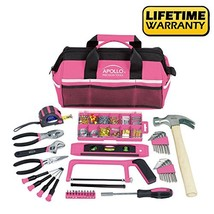Apollo Tools DT0020P 201 Piece Household Tool Kit with Most Reached Tool... - $52.81