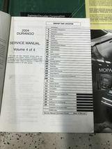 2004 DODGE DURANGO Service Repair Shop Manual Set W Data Book + Bulletin Page image 9