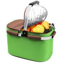 YONOVO 32 L Insulated Picnic Basket Cooler Bag for Famliy Gathering Camp... - $431,72 MXN