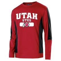 New NCAA Men's Utah Utes Artillery Crew Sweatshirt Scarlet/Black XL - $25.46