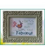 Your Own Kind of Fabulous cross stitch chart Designs by Lisa - $7.20