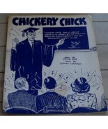 Chickery Chick, Sidney Lippman, Sylvia Dee, 1945 OLD SHEET MUSIC - $4.94