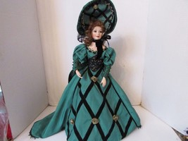 FRANKLIN HEIRLOOM DOLL DOREEN OF COUNTY DONEGAL 1995 BY ANNE JACKSON MUS... - $49.45