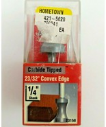 Vermont American 23158 Carbide Tipped Double Flute 23/32 in. Convex Edge - $12.99