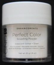 CND Perfect Color Iridescent Glitter Sheer Sculpting Powder .8oz - $11.75