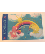 Vintage Care Bears pillowcase Rainbow Trail Catch Some Fun 1980s pillow ... - $8.00