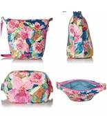 NWT Vera Bradley Carson Hobo Shoulder Crossbody Bag in Super Bloom 22543 - $84.15