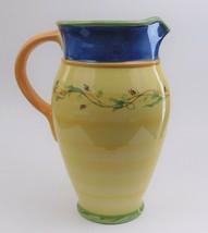 Pfaltzgraff Pistoulet Large Ice Tea Pitcher Jane Kolpen   - $44.55