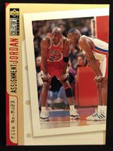 1996-97 Upper Deck Collector's Choice Michael Jordan #363 Basketball Card - $3.75