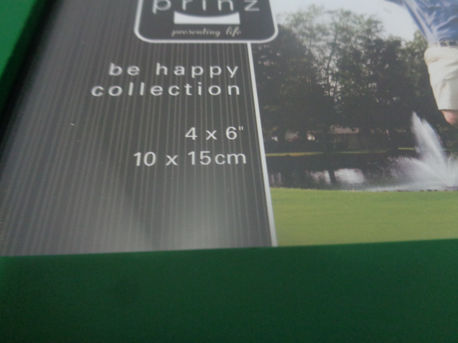 "Golf Photo Frame ""It takes a lot of BALLS to GOLF like I do"" 9"" x 5"" NIB"