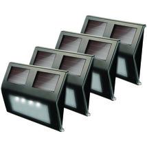 MAXSA Innovations 47334-BZ Solar LED Deck Light, 4 pk (Bronze Finish) - $46.20