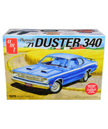 Skill 2 Model Kit 1971 Plymouth Duster 340 1/25 Scale Model by AMT AMT1118M - $54.94