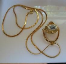 Vintage CC Pewter PAI Scrimshaw Clipper Ship Basket Pendant Necklace - $38.61