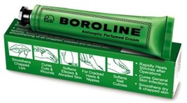 2 PACK BOROLINE ANTISEPTIC PERFUMED CREAM 20 Gm Cure Cuts, Abraded Skin - $7.89