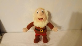 "12"" DISNEY PLUSH HAPPY DWARF - $7.21"