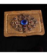 Antique Austro Hungarian Calling card case / GRAND TOUR accessory / rhin... - $195.00