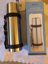 1 lit Vacuum Stainless Steel Insulated Beverage Unbreakable Bottle therm... - $19.39