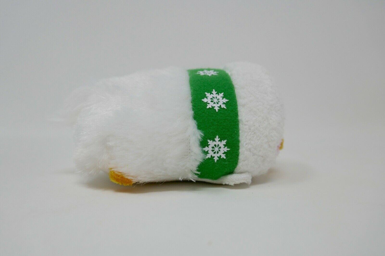 "Disney Store Tsum Tsum 3"" Plush Stuffed Animal - Snowman Donald Duck"
