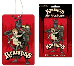 Krampus Deluxe Christmas Air Freshener With Cinnamon Scent! - $4.74
