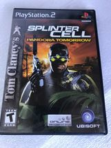 Tom Clancy's Splinter Cell: Pandora Tomorrow (Sony PlayStation 2, 2004) - $5.99
