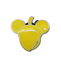 Disney Pins Hidden Mickey 2010 5 of 5 Yellow Acorn 2010 - $7.66